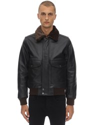 Schott Lc 5331 X Leather Jacket Antic Brown