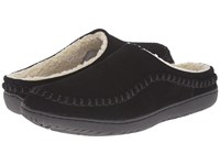 Foamtreads Logan L Black Women's Slippers