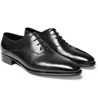 John Lobb Prestige Becketts Leather Oxford Shoes Black