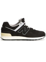 New Balance Logo Patch Sneakers Black