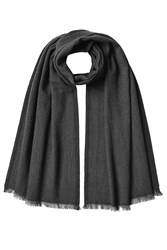 Jil Sander Scarf With Virgin Wool And Cashmere Black