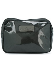 Adidas By Stella Mccartney Coated Wash Bag Black