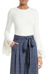 Milly Women's Bell Sleeve Pullover