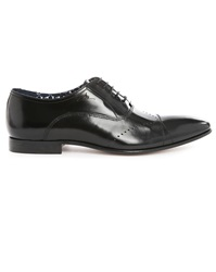 Billtornade Billy Black Leather Brogues