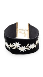 Vanessa Mooney The Lizy Choker Necklace Black Ivory