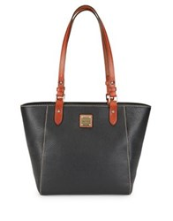 Dooney And Bourke Leather Tote Bag Smoke
