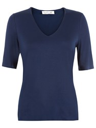 Damsel In A Dress Leah Top Navy