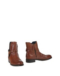 Tommy Hilfiger Ankle Boots Brown