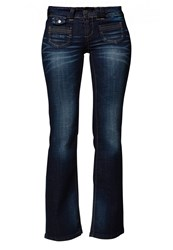 Only Ebba Bootcut Jeans Denim Blue Denim