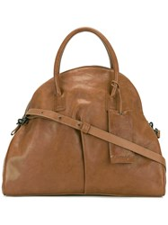 Marsell 'Noce' Tote Bag Leather Brown