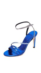 Iro Sparkly Sandals Summer Blue