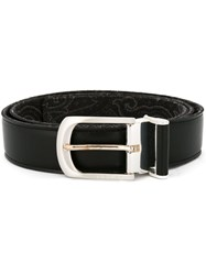 Etro Paisley Belt Black