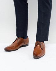 Ted Baker Peair Leather Derby Shoes In Tan Tan