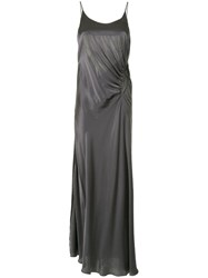 Christopher Esber Back Tie Cami Dress Grey