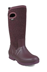 Bogs Women's Crandall Waterproof Tall Boot Plum