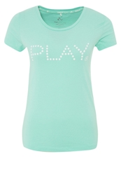 Only Play Print Tshirt Ice Green Mint