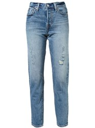 Levi's Washed Jeans Blue