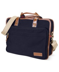 Tommy Hilfiger Top Zip Large Briefcase Bag Navy