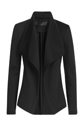 Donna Karan New York Draped Blazer Black