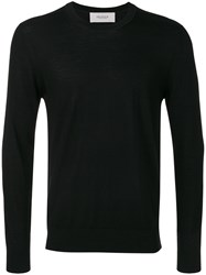 Pringle Of Scotland Round Neck Jumper Men Merino Xxl Black
