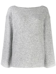 3.1 Phillip Lim Bell Sleeved Sweater Grey