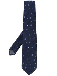 Canali Dotted Print Tie 60