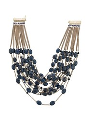 Rosantica Layered Necklace Blue