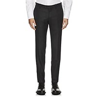 Marco Pescarolo Cashmere Twill Trousers Charcoal