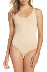 Magic Bodyfashion 'S Low Back Thong Shaping Bodysuit Latte