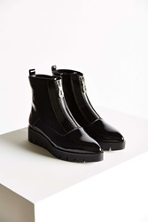 Sixtyseven Tabitha Front Zip Boot Black