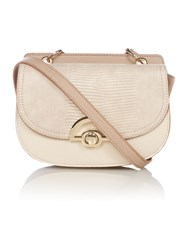 Juno Multi Colour Taupe Cross Body Bag Multi Coloured Multi Coloured
