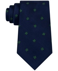 Club Room Men's Shamrock Tie Only At Macy's Green