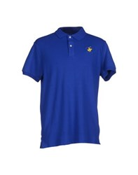 Beverly Hills Polo Club Topwear Polo Shirts Men Bright Blue