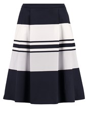 Taifun Aline Skirt Marine Dark Blue