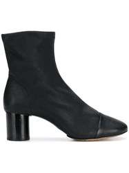 Isabel Marant Datsy Ankle Boots Black