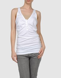 Hydrogen Topwear Tops Women White