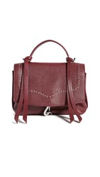 Rebecca Minkoff Stella Medium Convertible Backpack Pinot Noir