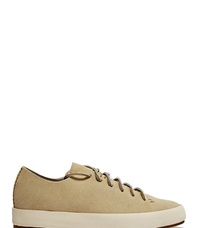 Feit Hand Sewn Low Leather Sneakers Grey