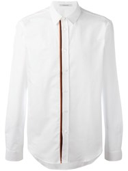 Carven Placket Detailing Shirt White