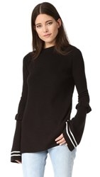 Mother Of Pearl Rubi Sweater Black White
