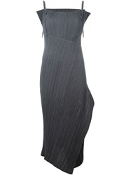 Issey Miyake Vintage Pleated Dress Grey