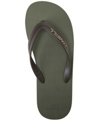 O'neill Men's Friction Sandals Army Green