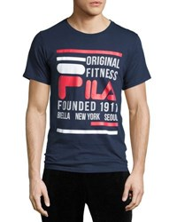 Fila Original Fitness Tee White