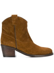 Via Roma 15 Ankle Boots Brown