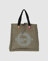 Carmina Campus Large Fabric Bags Military Green