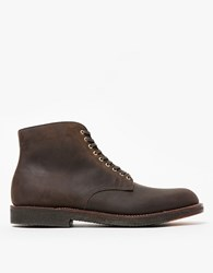 Alden Stafford Plain Toe Boot Tobacco Chamois