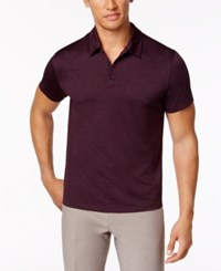 Alfani Men's Ethan Performance Polo Only At Macy's Chinese Eggplant