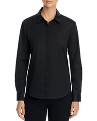 Dkny Button Down Shirt 100 Bloomingdale's Exclusive Black
