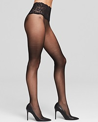 Commando Sexy Sheer Lace Top Tights