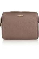 Dkny Textured Leather Cosmetics Case